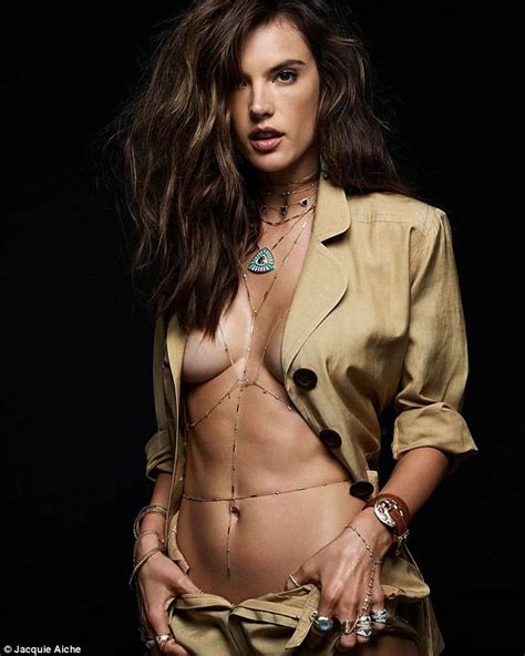 Alessandra Ambrosio models new Jacquie Aiche collection ...
