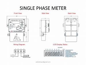 Energy Meter Wiring Diagram - Energy Meter Wiring Diagram -