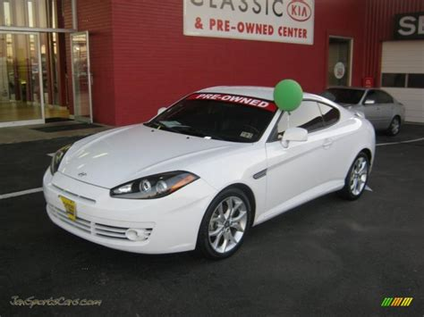 2008 Hyundai Tiburon For Sale by 2008 Hyundai Tiburon Gt In Captiva White 273445 Jax
