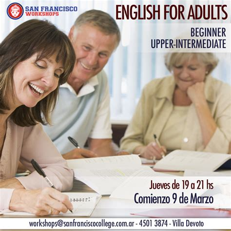 English For Adults 2017  San Francisco College