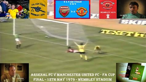 ARSENAL FC V MANCHESTER UNITED FC - FA CUP CUP FINAL ...