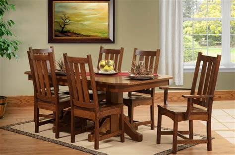 san antonio butterfly leaf table set countryside amish
