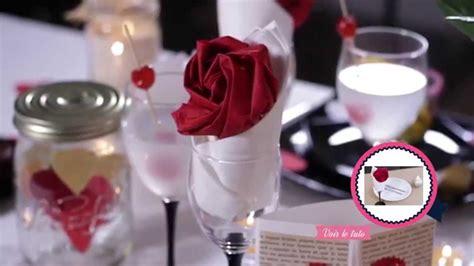 diy valentin d 233 coration de table romantique