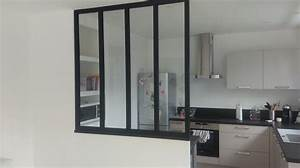 Verriere Pour Cuisine : salle de bain verriere ~ Premium-room.com Idées de Décoration