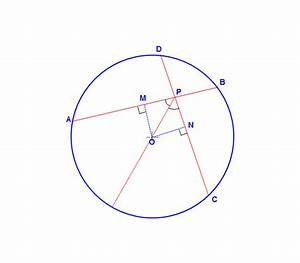 Ab And Dc Are Two Chords Of A Circle  Centre O  If Ab And