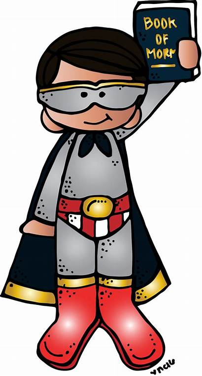 Melonheadz Lds Boy Primary Clipart Superhero Illustrating