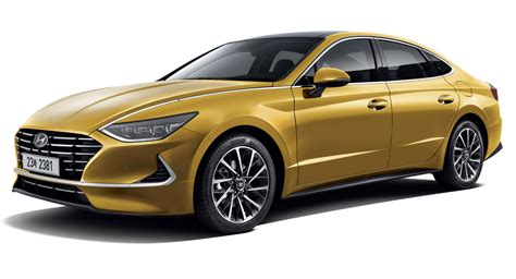 hyundai sonata officially revealed  sleek  door