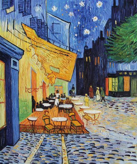 Hangterrasse Anlegen by Vg100 Cafe Terrace Place Du Forum Arles Vincent Gogh