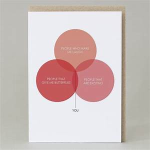 U0026 39 Love Venn Diagram U0026 39  Card By Hole In My Pocket