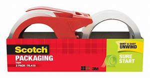Scotch Shipping Packaging Tape Dispenser Instructions