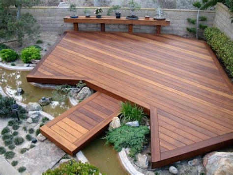 japanese garden deck asian deck san diego by sd independent construction