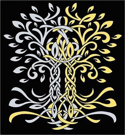 Tolkien Laurelin Telperion Trees Tree Silmarillion Tattoo