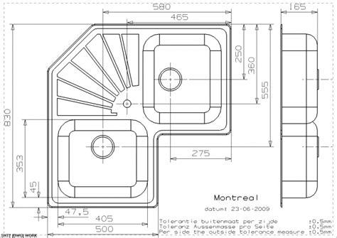corner kitchen sink dimensions reginox elegance montreal stainless steel inset corner 5850
