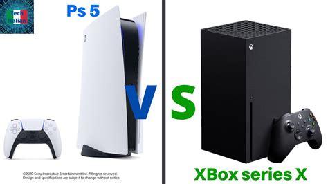 Ps5 Vs Xbox Series X Youtube