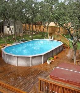 Grande Piscine Hors Sol : piscine hors sol les top 5 avantages et id es en photos super ~ Premium-room.com Idées de Décoration