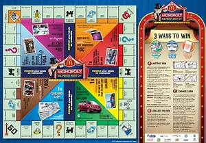 Mcdonalds Monopoly Board Print Out  U00ab The Best 10