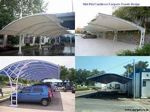 MP Car Park Shade Structures Cantilever Shade Structure