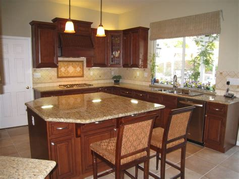 cherry wood cabinets with granite countertop arthur 39 s kitchen new kitchen classy cherry wood cabinets