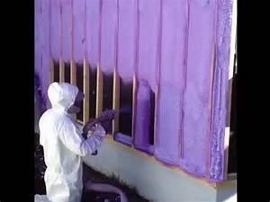 Isolation Mur Intérieur Polyuréthane : isolation mur ext rieur au polyur thane youtube ~ Melissatoandfro.com Idées de Décoration