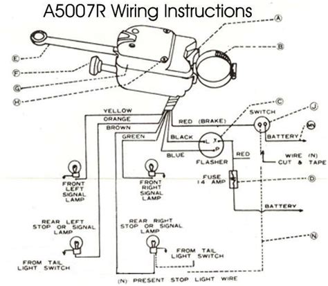 Technical Wiring Issues Brake Turn Signal The