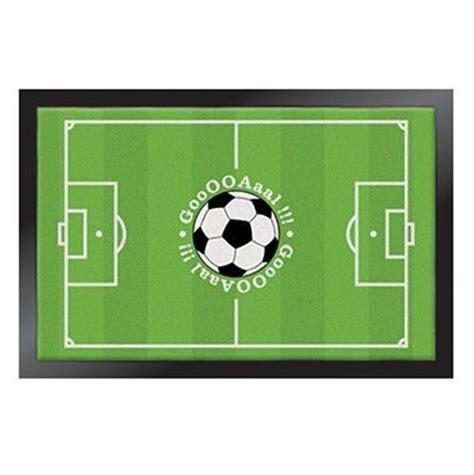 tapis football decoration football