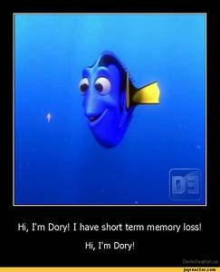 Hi, I'm Dory! I have short term memory loss!Hi, I'm Dory ...