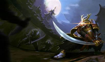 Yi Master Samurai Chinese Splash Legends League