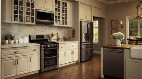 black kitchen cabinets with stainless steel appliances for kitchens black stainless steel is the new black 9767