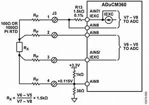 Pt100 4 Wire Connection Diagram