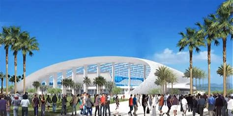 billion inglewood stadium rams   build