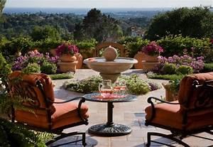 gartendeko einen wundervollen brunnen selber machen With französischer balkon mit mediterrane brunnen garten