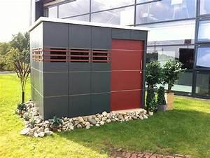 Gerätehaus Metall Flachdach : gartenhaus im modernen design holz ziller ~ Michelbontemps.com Haus und Dekorationen