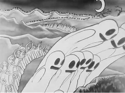 Rubber Hose Animation Cartoon Ghost 1930s Cartoons