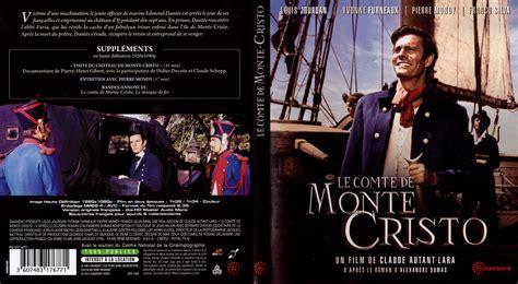 le comte de monte cristo 1961 jaquette dvd de le comte de monte cristo 1961 cin 233 ma