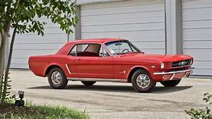 1965 Ford Mustang Coupe One of the First K-Code Mustangs Built   Lot F124   Monterey 2013 ...
