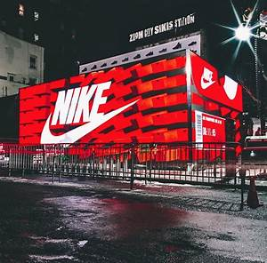 Giant Nike Box ... Outside