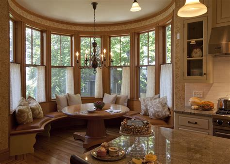 glamorous breakfast nooks in dining room with