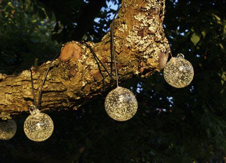 solar powered outdoor string lights for the