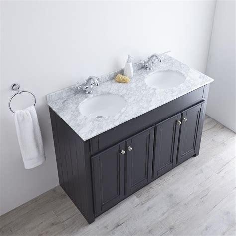 milano edgworth mm traditional vanity unit  double