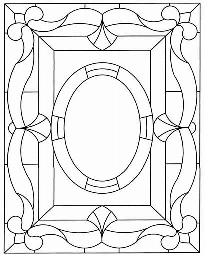 Stained Glass Coloring Patterns Window Pattern Welcome