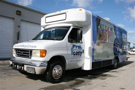 Shuttle Bus Vehicle Advertising Wrap Miami Florida