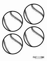 Coloring Baseball Pages Gear Mitts Bats Hats Balls Bat sketch template