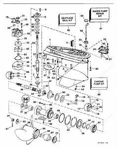 Johnson 1994 88 - Xj88tslers  Gearcase