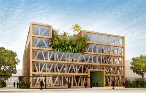 le bureau bois l 39 immeuble en bois en voie de démocratisation en