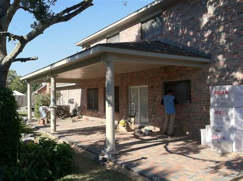 Patio And Outdoor by Patio Cover With Paver Floor And Outdoor Kitchen Hhi