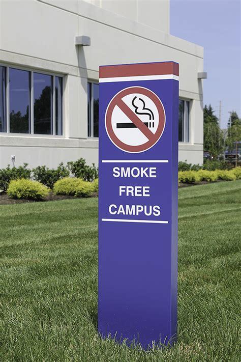 facility smoking signs prime sign program