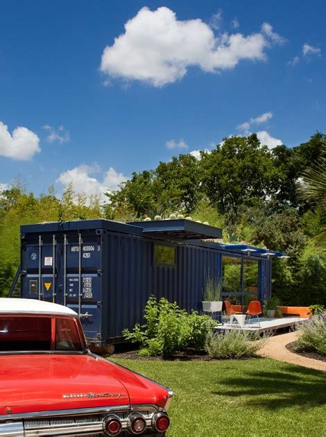 poteet architects shipping container guest home jared