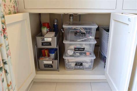Organize The Bathroom Sink by How To Organize A Bathroom Sink