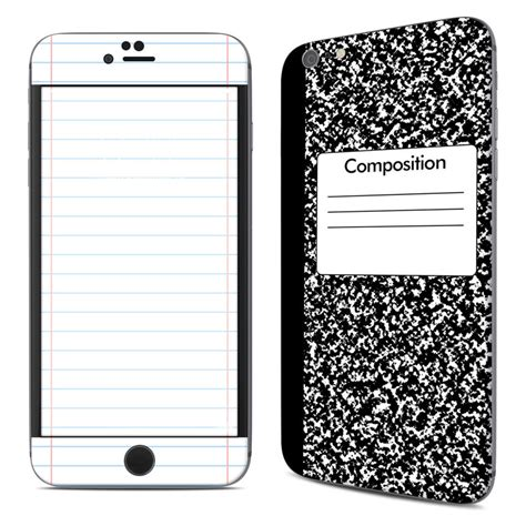 iphone 6 plus skin apple iphone 6 plus skin composition notebook by retro Iphon