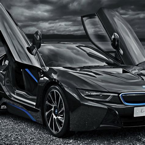 Bmw I8 Monochrome Supercars 4k Android Wallpaper